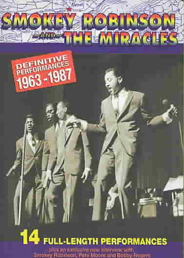 DEFINITIVE PERFORMANCES 1963-1987 BY ROBINSON,SMOKEY & T (DVD)
